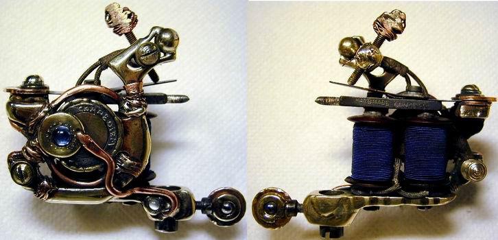Top Grade Handmade Tattoo Machine (Christmas Promotion) 001 [2010-06-15]