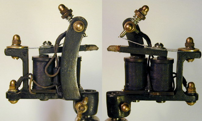 "BBB Iron Hammer head Tattoo Machine. by ""Bernhard """