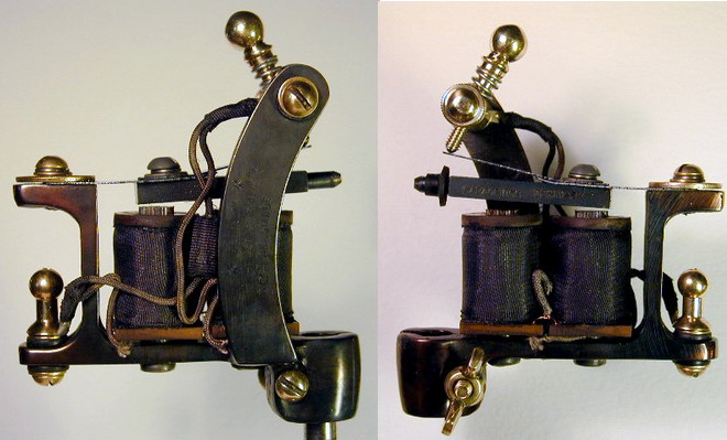 Brass & Iron: Tattoo Machine Works for the Professional
